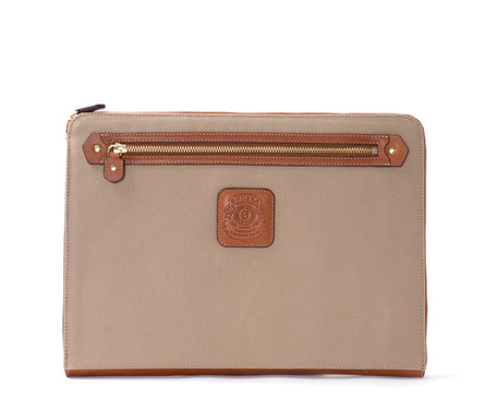 Load image into Gallery viewer, 13 Inch Laptop Case No. 467 | Khaki Twill