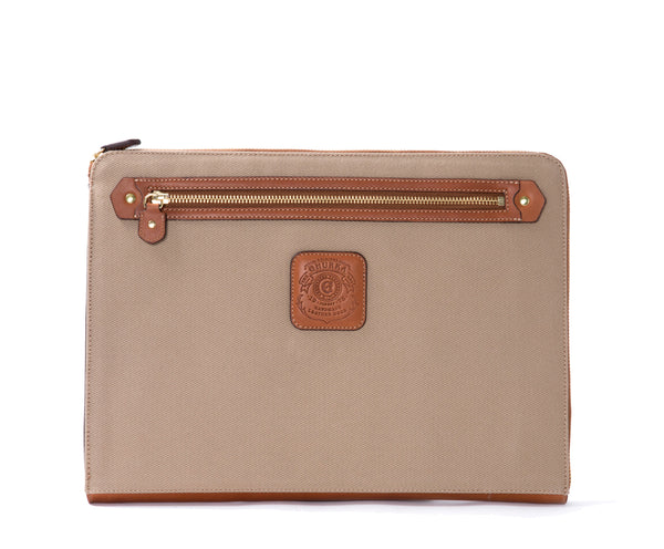 13 Inch Laptop Case No. 467 | Khaki Twill