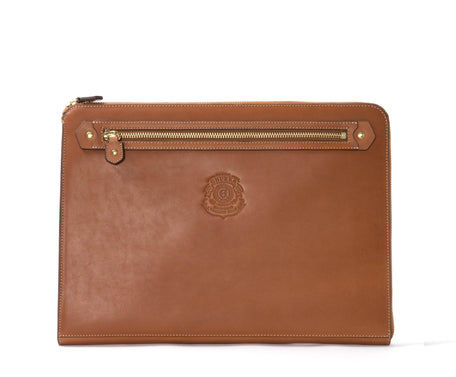 Load image into Gallery viewer, 13 INCH LAPTOP CASE No. 467 | CHESTNUT LEATHER