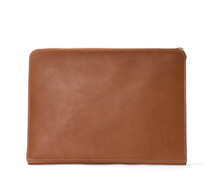 13 INCH LAPTOP CASE No. 467 | CHESTNUT LEATHER