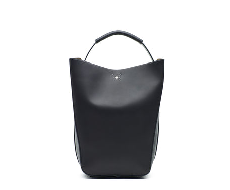 Load image into Gallery viewer, STARLING LEATHER BUCKET BAG
