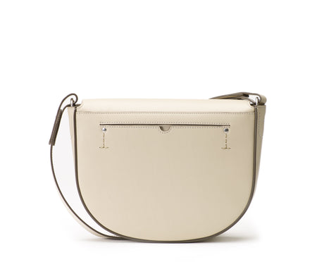 MARLOW II LEATHER SADDLE BAG