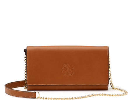 Load image into Gallery viewer, GENA CHAIN NO. 434 | CHESTNUT LEATHER