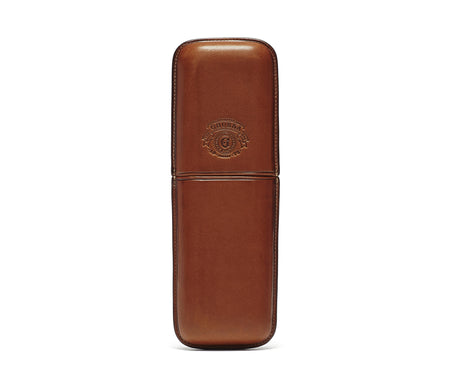 Load image into Gallery viewer, Twin Cigar Case No. 237 | Chestnut Leather