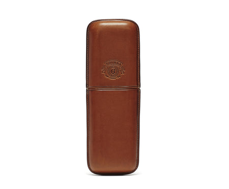 TWIN CIGAR CASE No. 237 | CHESTNUT LEATHER