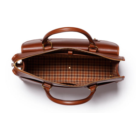 SATCHEL No. 17 | VINTAGE CHESTNUT LEATHER