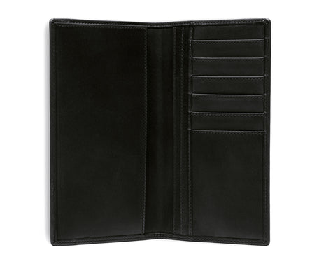 Load image into Gallery viewer, BREAST POCKET WALLET No. 145 | BLACK LEATHER