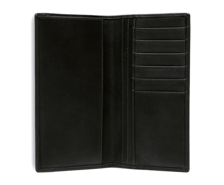 BREAST POCKET WALLET No. 145 | BLACK LEATHER