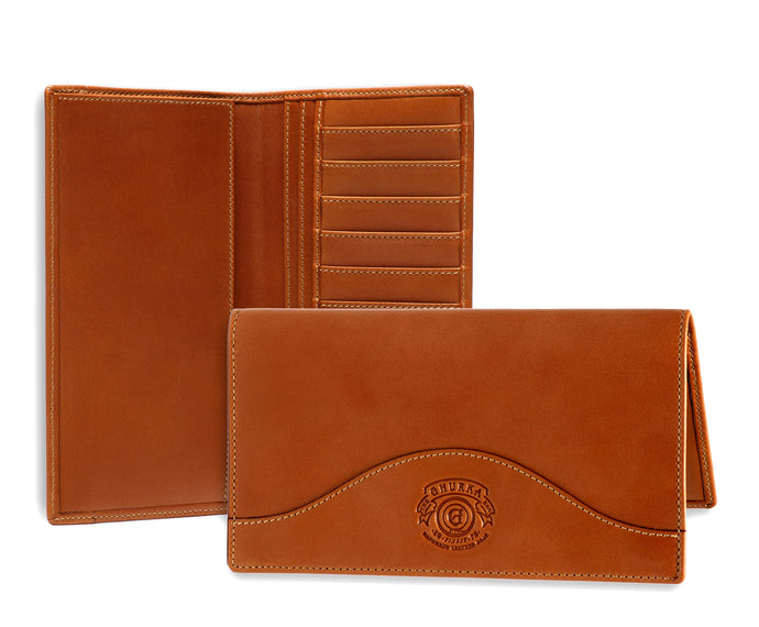 BREAST POCKET WALLET No. 145 | CHESTNUT LEATHER