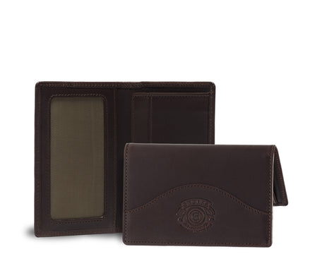 Load image into Gallery viewer, Credit Card Window Wallet No. 202 | Walnut Leather