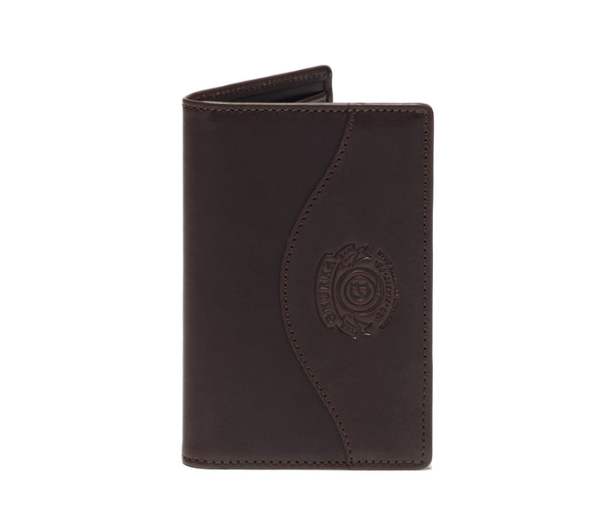 Credit Card Window Wallet No. 202 | Walnut Leather