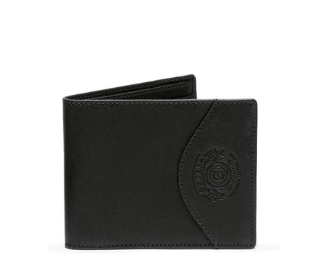 Load image into Gallery viewer, SLIM CLASSIC WALLET No. 203  | BLACK LEATHER