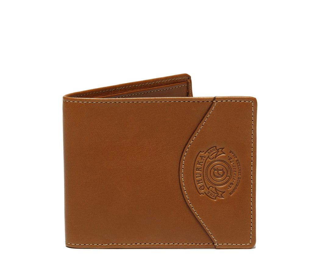 SLIM CLASSIC WALLET No. 203  | CHESTNUT LEATHER