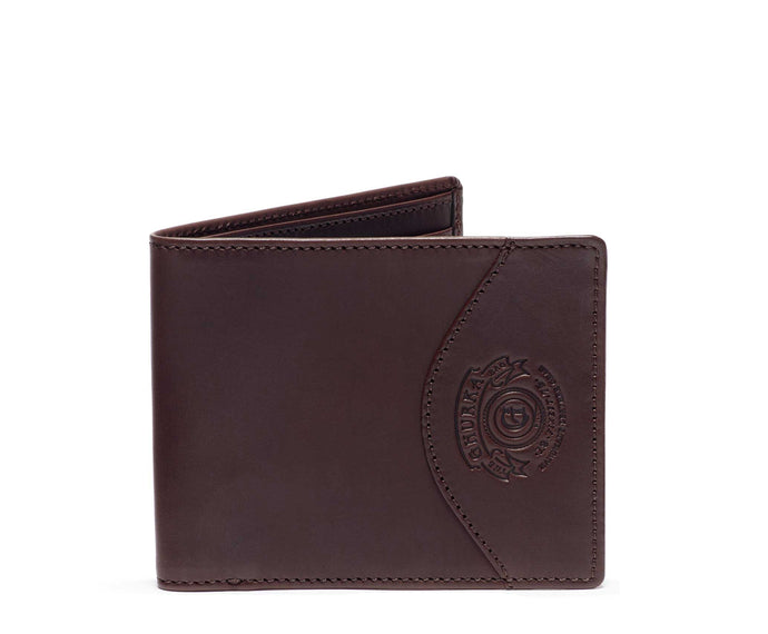 Slim Classic Wallet No. 203  | Walnut Leather