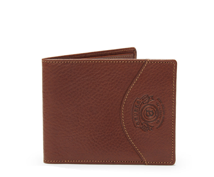 SLIM CLASSIC WALLET No. 203  | VINTAGE CHESTNUT LEATHER