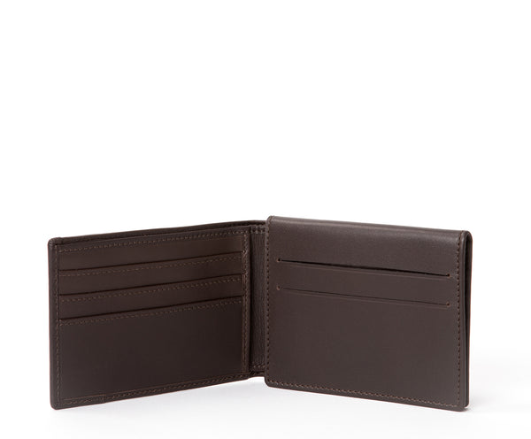 Pass Case Wallet No. 393 | Walnut Leather
