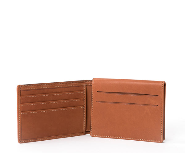 Pass Case Wallet No. 393 | Chestnut Leather
