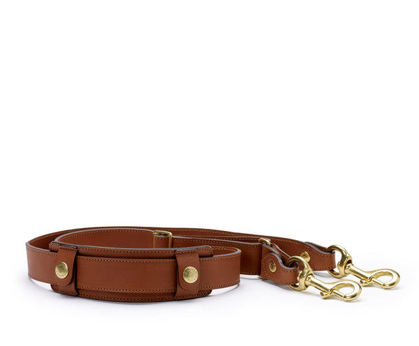 Leather Shoulder Strap  | Chestnut Leather