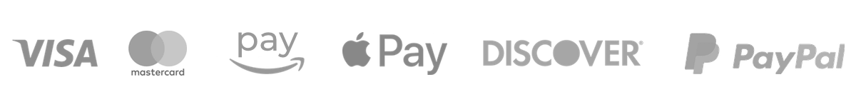 Trust payment providers for Vaulted Vinyl: Visa, MasterCard, Amazon Pay, Apple Pay, Discover, PayPal, and more!