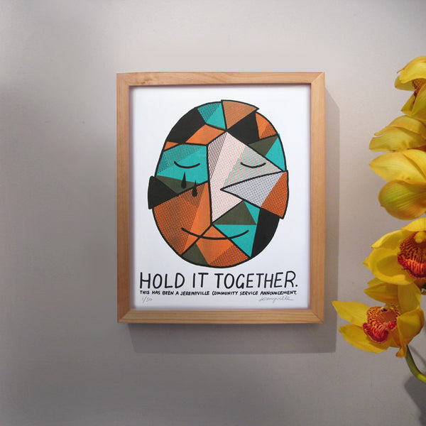 Hold It Together - 11 x 14 inches