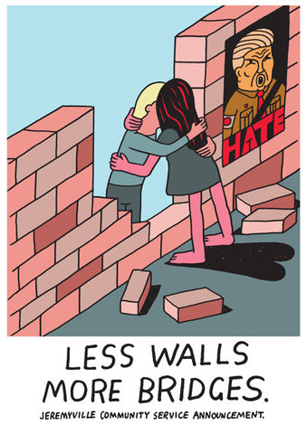 Less Walls More Bridges