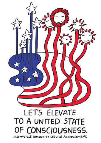 Let's Elevate to a United State of Consciousness