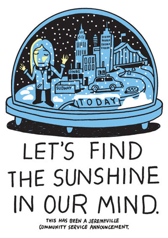 Let's Find The Sunshine In Our Mind