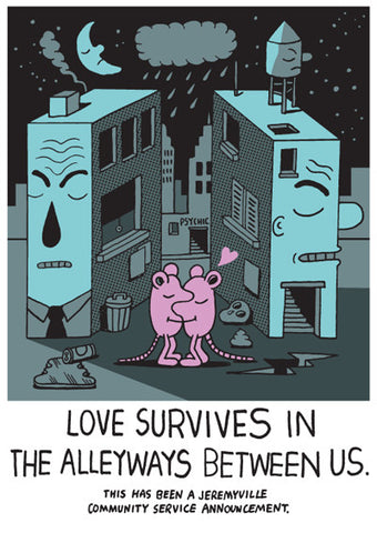 Love Survives In The Alleyways Between US