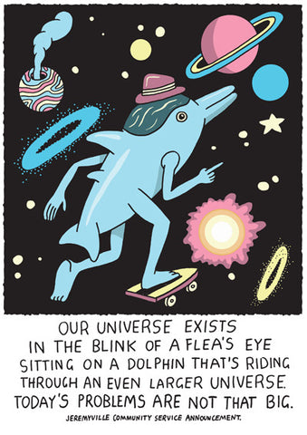 Our Universe Exists In The Blink Of A Flea's Eye