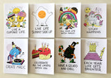 "Jeremyville CSA Greeting Cards - ""Happy Birthday"""