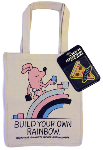 Build Your Own Rainbow Tote