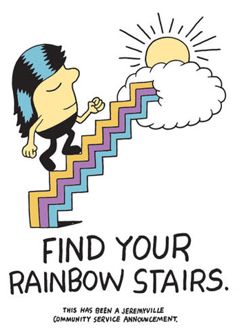 Find Your Rainbow Stairs