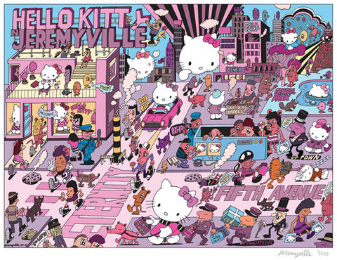 Hello Kitty in Jeremyville