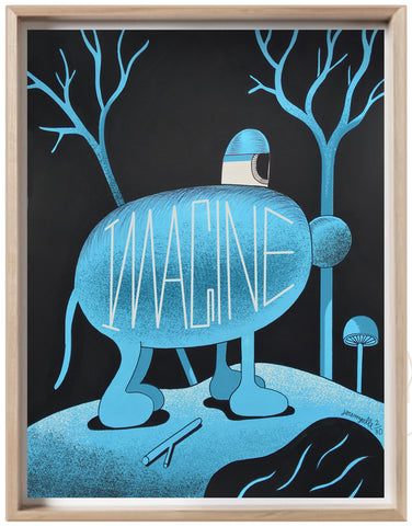 Imagine / Blue Rabbit (signed edition)