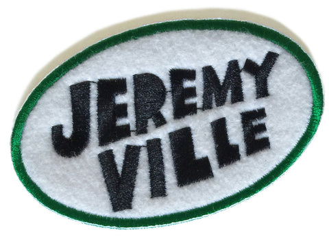 Jeremyville Oval Patch