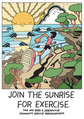 Join The Sunrise For Exercise