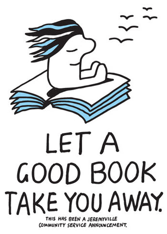 Let A Good Book Take You Away