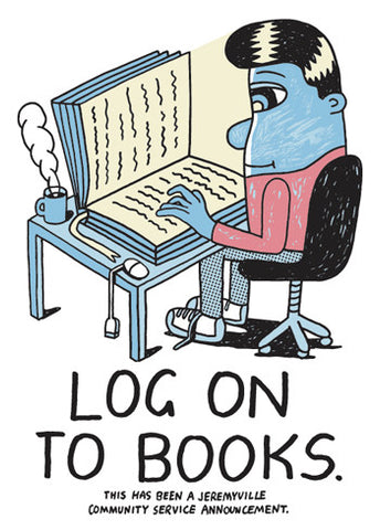 Log On To Books