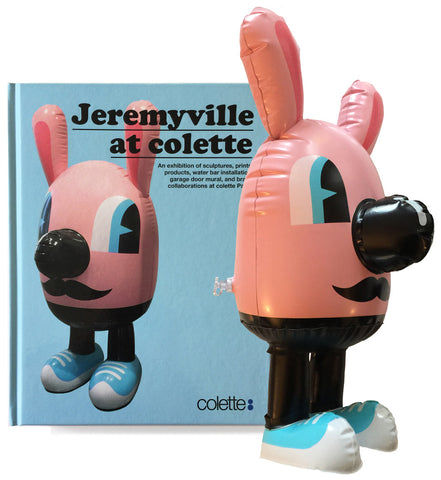 Jeremyville at Colette (signed, with inflatable)