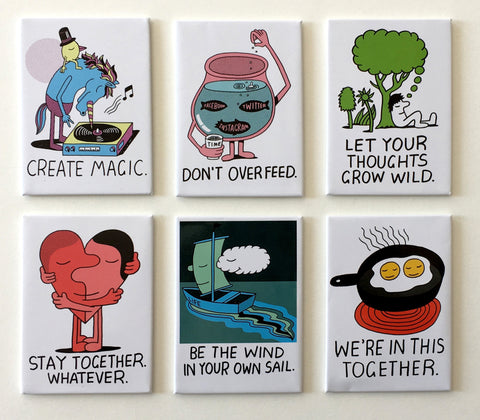 Jeremyville CSA Magnets - Set A