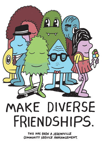 Make Diverse Friendships