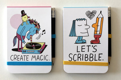 Jeremyville CSA Notepads with Pencil