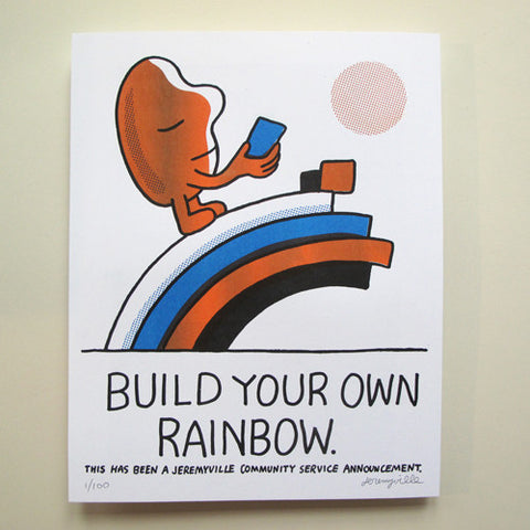 Build Your Own Rainbow - 11 x 14 inches