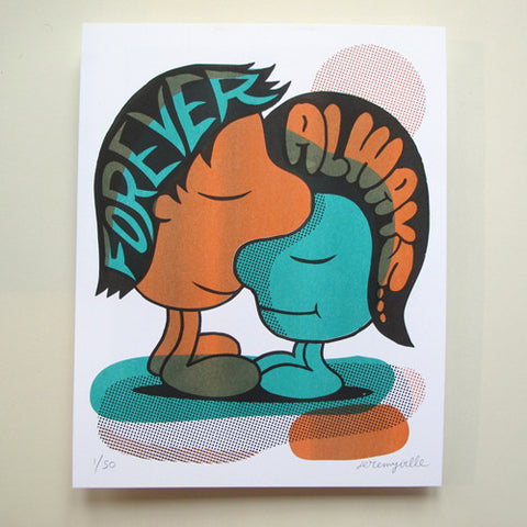 Forever and Always - 11 x 14 inches
