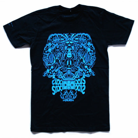 Collective Edition 'Succumb' x Jeremyville (Blue on Black)