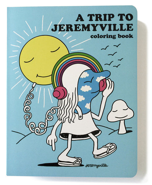A Trip to Jeremyville FREE coloring in poster _ HOME