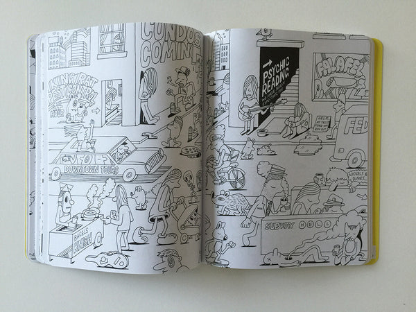 A Trip to Jeremyville Coloring Book