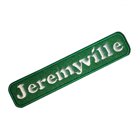 Jeremyville Green Patch