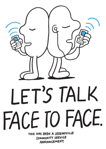 Let's Talk Face To Face