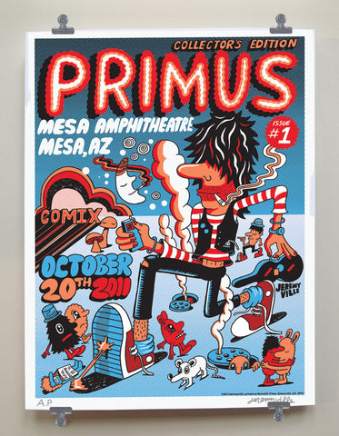 Primus Tour Screenprint